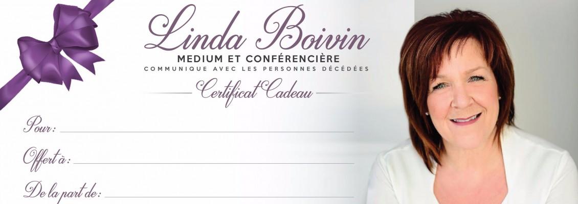 Certificat cadeau Linda Boivin